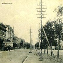 Bahnhofstr. Oberndorf um 1910