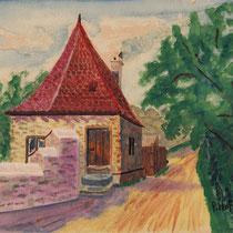 Hopperle - Gemälde von Paul Hoffmann 1926