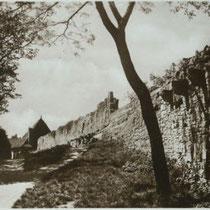 Stadtmauer um 1926