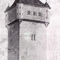Wasserturm Oberndorf (heute Bergl)