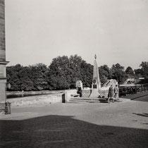 An der Maxbrücke Anfang der 1950er - Danke an Klaus Best
