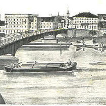 Mainbrücke um 1910