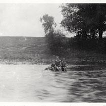 Freibad am Main im August 1932 - Danke an Frau Elisabeth Leubner