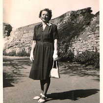 Am Höpperle im Jahre 1947 - Danke an Isolde Miller