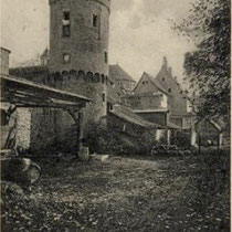 Stadtmauer West um 1925