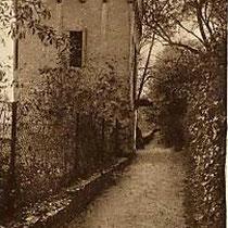 Stadtturm am Unteren Wall (steht heute wieder in alter Pracht) um 1920