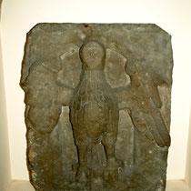 """Wappenadler der freien Reichsstadt Schweinfurt - sogenannte """"Schweinfurter Eule"""" 1564 (befand sich im Torgewölbe des Mühltors)"""