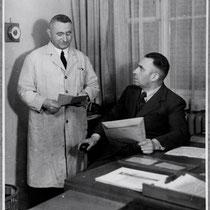 rechts: Herr Weppert