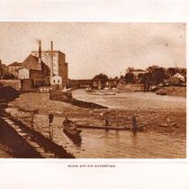 Blick auf die alte Maxbrücke - Danke an Michael Kupfer