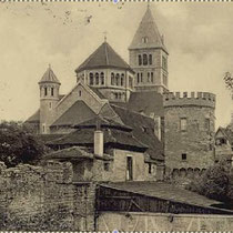 Stadtmauer West (ggü. Justizgebäude um 1930
