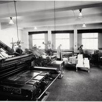 In der Buchbinderei