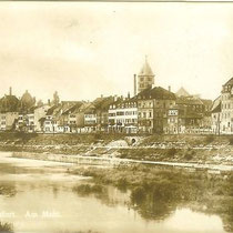 Mainpartie um 1925