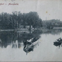 Auf dem Main um 1916 -1918