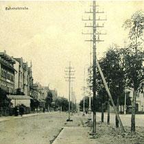 Bahnhofstraße Oberndorf 1910