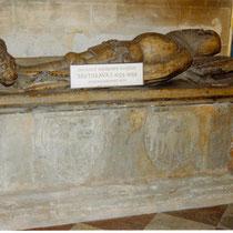 Das Grab des Fürsten Bretislaw I.