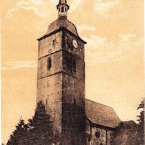 Die Kreuzkirche 1910