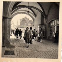 Rathausdurchgang Anfang der 1950er - Danke an Klaus Best