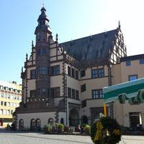 Das Rathaus im März 2012