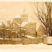 Stadtmauer West im Schnee - Danke an Andreas Hedler