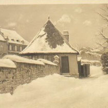 Am Höpperle um 1939 in Schnee