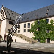 Rathaus vom Innenhof betrachtet