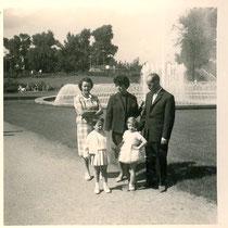 1961 in den Wehranlagen - Danke an Isolde Miller