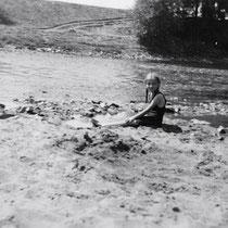 Insel im Saumain, aufgenommen am 24 07. 1935 - Danke an Frau Elisabeth Leubner