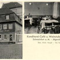 """Gasthaus """"Zur Traube"""" am Jägersbrunnen"""
