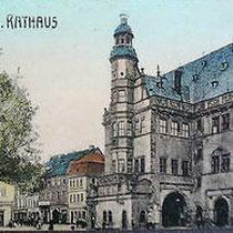 Rathaus um 1905