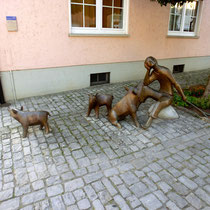 Kunst im Zürch - Burggasse