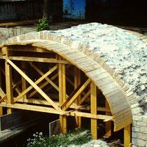 1985 Neubau der Marienbachbrücke