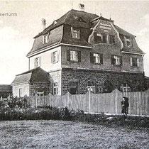 Wasserhaus am Wasserturm ca. 1916