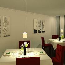 Restaurant Visualisierung