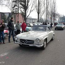 190 SL de Hubert