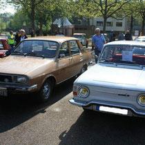 Renault 10 et 12 de Romain et Jean-Michel