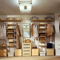 Гардеробные комнаты. Шкаф купе.
