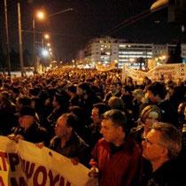 Grækenland: Generalstrejke mod den socialdemokratiske regerings neoliberale kriseløsningsplaner