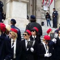 Feministiske 'korpsstudenter' ('Burschenschaften') Hysteria - Wien