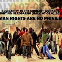 Pogromstemning mod indvandrere i den syditalienske by Rosarno