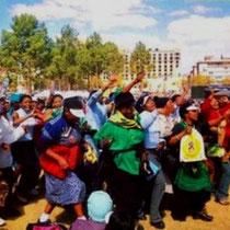 Sydafrikas kvinder demonstrerer mod ANC-regeringens nedskæringspolitik
