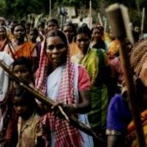 Indiens regering i krig mod Naxalit-bevægelsen