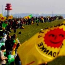 Omkring 150.000 demonstrerer mod atomkraft i Tyskland