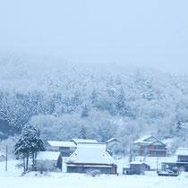能登 黒川の冬
