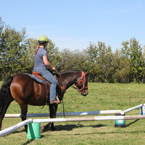 Members may ride through and over obstacles