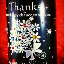 名前 ロゴ オリジナル シャンパン ワイン ノベルティ 世界で1つ オーダーメイド 格安 ボトル 製作 東京 スワロ おしゃれ プレゼント 酒 オーダー