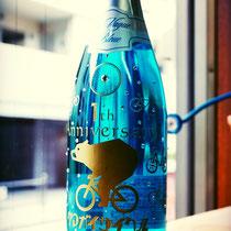 名前  ロゴ オリジナル シャンパン ノベルティ  ワイン ボトル 世界で1つ オーダーメイド 格安 製作 プレゼント 東京 スワロ 酒 オーダー