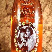 写真  オリジナルボトル ワイン 世界で1つ シャンパン オーダーメイド 名入れ 格安 製作 東京 お祝い スワロ