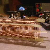 Homebrew air core inductors, by I6QON