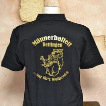 Beflockung - Männerballett T-Shirt