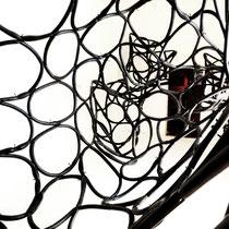 Rauminstallation LOOP, Fahrradschläuche 2012